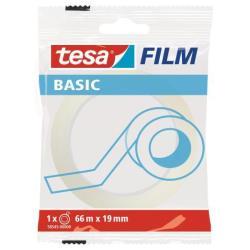 Nastro adesivo Tesa - Tesafilm basic nastro ufficio - 19 mm x 66 m - trasparente 58545-00000-00