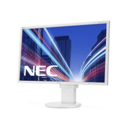 "Écran LED NEC MultiSync EA275WMi - Écran LED - 27"" - 2560 x 1440 - IPS - 350 cd/m² - 1000:1 - 6 ms - HDMI, DVI-I, DisplayPort - haut-parleurs - blanc"
