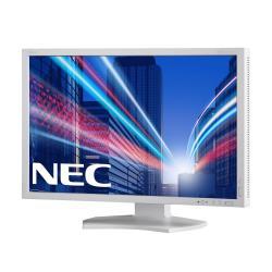 "Écran LED NEC MultiSync PA242W-SV2 - Écran LED - 24.1"" - 1920 x 1200 - AH-IPS - 340 cd/m² - 1000:1 - 8 ms - HDMI, DVI-D, VGA, DisplayPort - blanc"