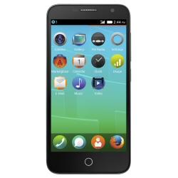 """Smartphone Alcatel One Touch FIRE E 6015X - Smartphone - 3G - 4 Go - microSDHC slot - GSM - 4.5"""" - 960 x 540 pixels - IPS - 5 MP (caméra avant de 0,3 mégapixels) - Firefox OS - ardoise"""