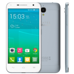 """Smartphone Alcatel One Touch Idol 2 Mini 6016D - Smartphone - double SIM - 3G - 8 Go - GSM - 4.5"""" - 960 x 540 pixels - IPS - 8 MP - Android - nuageux"""