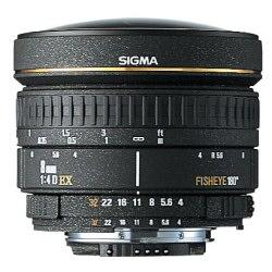 Obiettivo Sigma - 8mm f3.5 fisheye ex dg