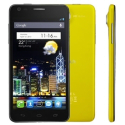 "Smartphone Alcatel One Touch Idol Ultra 6033X - Smartphone - 3G - 16 Go - GSM - 4.7"" - 1 280 x 720 pixels - AMOLED - 8 MP - Android - jaune"