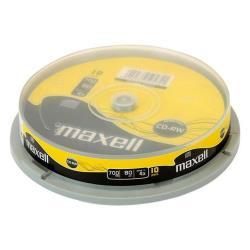 Maxell - Cd-rw x 10 - 700 mb - supporti di memorizzazione 624039
