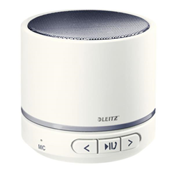 Speaker Wireless Bluetooth Leitz - WOW Mini Bianco Nero