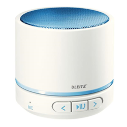 Speaker Wireless Bluetooth Leitz - WOW Mini Bianco Blu