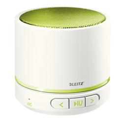 Speaker Wireless Bluetooth Leitz - WOW Mini Bianco Verde