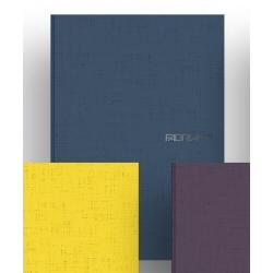 Quaderno Fabriano - Ecoacqua Punto Metallico Blu Cf 5pz