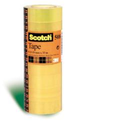 Nastro Scotch - 508 nastro ufficio - 15 mm x 66 m (pacchetto di 10) 66224