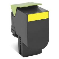 Toner Lexmark - 702xye - extra high yield - giallo - originale - cartuccia toner 70c2xye