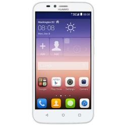 """Smartphone Huawei Ascend Y625 - Smartphone - double SIM - 3G - 4 Go - microSDHC slot - GSM - 5"""" - 854 x 480 pixels (196 ppi) - IPS - 8 MP (caméra avant de 2 mégapixels) - Android - blanc"""