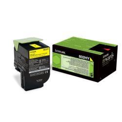 Toner 802hy - alta resa - giallo - originale - cartuccia toner - lccp, lrp 80c2hy0