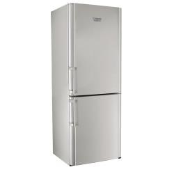 Réfrigérateur Hotpoint Ariston ENBLH 192A3 FW - Réfrigérateur/congélateur - pose libre - largeur : 70 cm - profondeur : 74 cm - hauteur : 195 cm - 450 litres - congélateur bas - classe A+ - argenté(e)