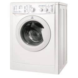 Lave-linge Indesit IWC 71051 C - Machine à laver - pose libre - largeur : 59.5 cm - profondeur : 53.5 cm - hauteur : 85 cm - chargement frontal - 52 litres - 7 kg - 1000 tours/min - blanc