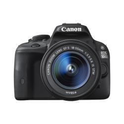Fotocamera reflex Canon - Eos 100d - fotocamera digitale lente ef-s is stm da 18-55 mm 8576b022