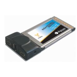 Scheda PCMCIA Digicom - Pc card firewire 800/400 - adattatore firewire - 3 porte 8e4237