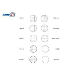 Rambloc - RICAMBIO BIANCO A4 100GR 5MM 80FF