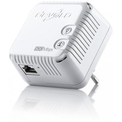 Power line Devolo - Dlan 500 wifi - starter kit - bridge - 802.11b/g/n - collegabile a parete 9089