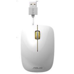 Mouse Asus - Ut300 - mouse - usb - bianco, giallo 90xb0460-bmu030