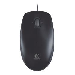 Mouse Logitech - B100 - mouse - usb - nero 910-003357
