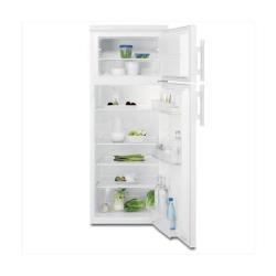 Réfrigérateur Electrolux EJ2302AOW2 - Réfrigérateur/congélateur - pose libre - largeur : 54.5 cm - profondeur : 60.4 cm - hauteur : 140.4 cm - 228 litres - congélateur haut - Classe A++ - blanc