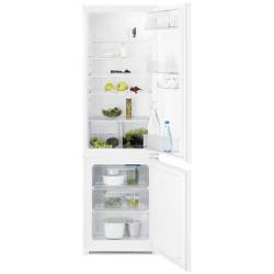 Réfrigérateur Electrolux EN3613MOW - Réfrigérateur/congélateur - pose libre - largeur : 59.5 cm - profondeur : 64.7 cm - hauteur : 184.5 cm - 329 litres - congélateur bas - Classe A++