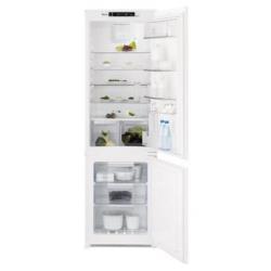 Réfrigérateur encastrable Electrolux ENN2853COW - Réfrigérateur/congélateur - intégrable - niche - largeur : 56 cm - profondeur : 55 cm - hauteur : 178 cm - 263 litres - congélateur bas - classe A+ - blanc