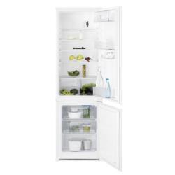 Réfrigérateur encastrable Electrolux RNN2800AOW - Réfrigérateur/congélateur - intégrable - 277 litres - congélateur bas - classe A+ - blanc