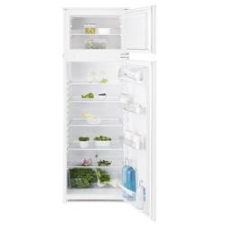 Réfrigérateur encastrable Electrolux RJN2700AOW - Réfrigérateur/congélateur - intégrable - niche - largeur : 54.9 cm - profondeur : 54 cm - hauteur : 157.5 cm - 268 litres - congélateur haut - classe A+ - blanc