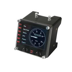 Controller Logitech - Pro Flight Instrument Panel PC