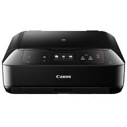 Imprimante  jet d'encre multifonction Canon PIXMA MG7550 - Imprimante multifonctions - couleur - jet d'encre - 216 x 297 mm (original) - A4/Legal (support) - jusqu'à 15 ipm (impression) - 125 feuilles - USB 2.0, LAN, Wi-Fi(n), NFC