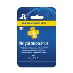 Abbonamento Live Sony - Playstation plus card hang 365 days