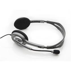 Cuffia con microfono Logitech - Stereo Headset H110