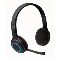 Casque Logitech Wireless Headset H600 - Casque - sur-oreille - sans fil - 2,4 GHz