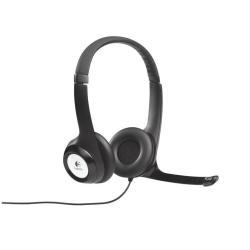 Casque Logitech USB Headset H390 - Casque - pleine taille
