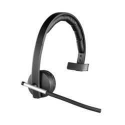 Casque Logitech Wireless Headset Mono H820e - Casque - sur-oreille - sans fil - DECT
