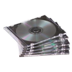 Cartelletta Cofanetto ridotto per archiviazione cd/dvd 9833801