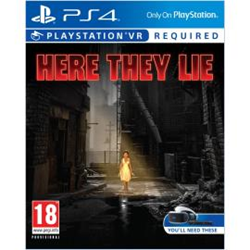 Videogioco Sony - Here they lie vr Ps4