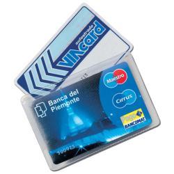 Porta cards Alplast - CF100PORTACARD PVC CRISTAL A 2 SCOM
