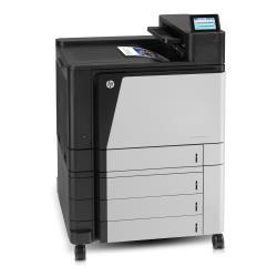 Imprimante laser HP Color LaserJet Enterprise M855xh - Imprimante - couleur - Recto-verso - laser - A3/Ledger - 1200 x 1200 ppp - jusqu'à 46 ppm (mono) / jusqu'à 46 ppm (couleur) - capacité : 2100 feuilles - USB 2.0, Gigabit LAN, hôte USB, hôte USB (interne)