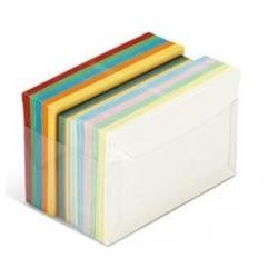 Busta Cartotecnica Favini - Favini arcobaleno b1 - busta - 7.2 cm x 11 cm - apertura laterale a57x151