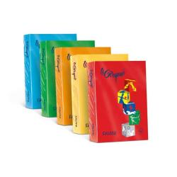 Carta Cartotecnica Favini - Le Cirque 80gr A4 Rosso