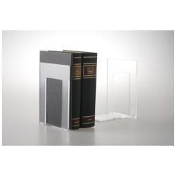 Reggilibri Fermalibro acrilico acrilico trasparente (pacchetto di 2) acr003