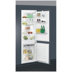 Réfrigérateur encastrable Ignis ARL 6502/A++ - Réfrigérateur/congélateur - intégrable - niche - largeur : 56 cm - profondeur : 56 cm - 275 litres - congélateur bas - Classe A++ - inox