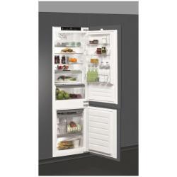Réfrigérateur encastrable Whirlpool ART8910/A+SF - Réfrigérateur/congélateur - intégrable - niche - largeur : 56 cm - profondeur : 55.5 cm - hauteur : 177.6 cm - 269 litres - congélateur bas - classe A+