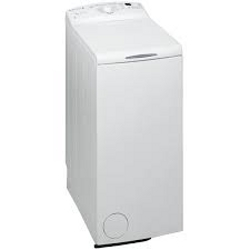 Lave-linge Whirlpool AWE6539/1 - Machine à laver - pose libre - largeur : 40 cm - profondeur : 60 cm - hauteur : 90 cm - chargement par le dessus - 6 kg - 1000 tours/min - blanc