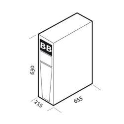 Batteria Riello UPS - Bb1320240-b1