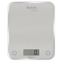 Bilancia da cucina Tefal - Optiss Glass BC5004 Max 5 kg Funzione Tara Argento