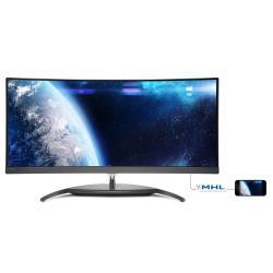 Monitor LED Philips - Bdm3490uc