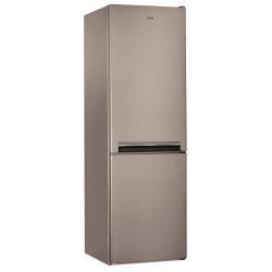 Réfrigérateur Ignis BM 0903 DC OX - Réfrigérateur/congélateur - pose libre - largeur : 60 cm - profondeur : 66 cm - hauteur : 189 cm - 338 litres - congélateur bas - classe A+ - inox